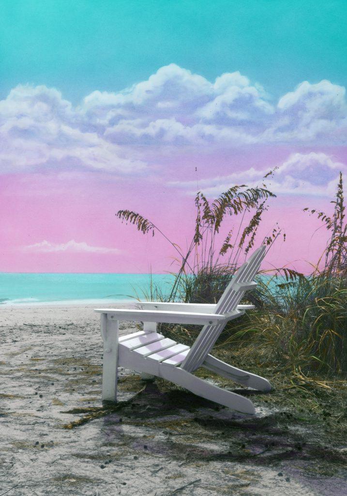 Sittin' by the Sea Shore